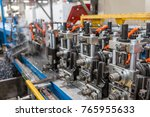 machine for the production of... | Shutterstock . vector #765955633