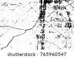 grunge black and white pattern. ... | Shutterstock . vector #765960547