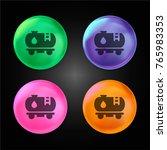 train tank wagon crystal ball...   Shutterstock .eps vector #765983353