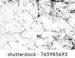 grunge black and white pattern. ... | Shutterstock . vector #765985693