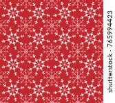 winter seamless pattern with... | Shutterstock .eps vector #765994423