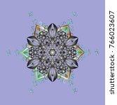 design for fabric or wallpaper. ...   Shutterstock .eps vector #766023607