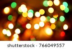 multicolored blurred lights... | Shutterstock . vector #766049557