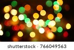 out of focus multicolored... | Shutterstock . vector #766049563