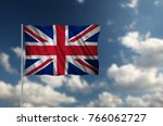 flag with original proportions. ... | Shutterstock . vector #766062727