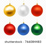 multi coloured bright christmas ... | Shutterstock .eps vector #766084483