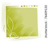 eco motive  plant  background ...   Shutterstock .eps vector #76609120
