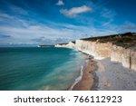 seven sisters white chalk... | Shutterstock . vector #766112923