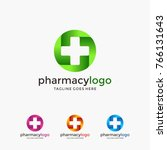 medical logo icons. icons for... | Shutterstock .eps vector #766131643