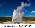 Eruption Of Old Faithful Geyse...