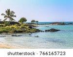 Beautiful Beach On Hawaii Big...