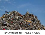 Mountains Of Collected Scrap...