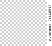gray and white chessboard... | Shutterstock .eps vector #766225987