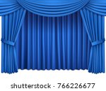 background with luxury blue red ... | Shutterstock .eps vector #766226677