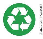 recycle icon vector   Shutterstock .eps vector #766241323