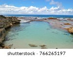 front shot of the swimming hole ...   Shutterstock . vector #766265197