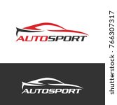 autosport logo icon | Shutterstock .eps vector #766307317