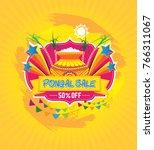 pongal festival sale template...   Shutterstock .eps vector #766311067