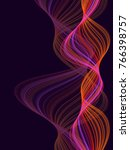 red and violet multiple... | Shutterstock .eps vector #766398757