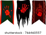 Three Different Banners With...