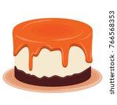 pudding vector. | Shutterstock .eps vector #766568353