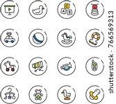 line vector icon set  ...   Shutterstock .eps vector #766569313