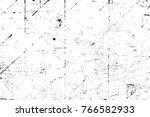 grunge black and white pattern. ... | Shutterstock . vector #766582933