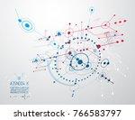 vector industrial and... | Shutterstock .eps vector #766583797