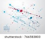 vector industrial and... | Shutterstock .eps vector #766583803
