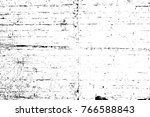 grunge black and white pattern. ... | Shutterstock . vector #766588843