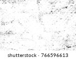 grunge black and white pattern. ... | Shutterstock . vector #766596613