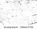 grunge black and white pattern. ... | Shutterstock . vector #766611733
