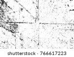 grunge black and white pattern. ... | Shutterstock . vector #766617223