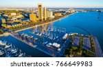 the perfect morning over corpus ... | Shutterstock . vector #766649983