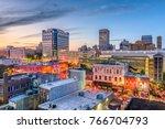 memphis  tennessee  usa... | Shutterstock . vector #766704793