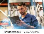 car service  repair ... | Shutterstock . vector #766708243