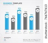 infographics elements diagram... | Shutterstock .eps vector #766767613