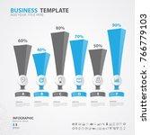 infographics elements diagram... | Shutterstock .eps vector #766779103