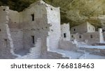 ancient cliff dwellings at mesa ... | Shutterstock . vector #766818463