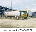 liquid ammonia storage used in...   Shutterstock . vector #766842277