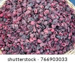 hibiskus on a street market     ... | Shutterstock . vector #766903033
