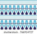 christmas new year's winter... | Shutterstock .eps vector #766914727
