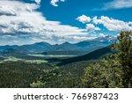 Green Mountain Valley. Summer...