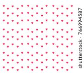 vector illustration valentine... | Shutterstock .eps vector #766994587