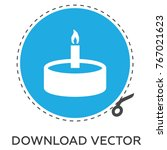 candle vector icon | Shutterstock .eps vector #767021623