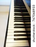 Small photo of Grand piano keyboard