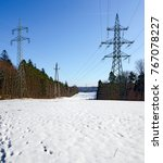 Snowcovered Landscape For A...