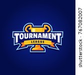 tournament logo sport | Shutterstock .eps vector #767082007
