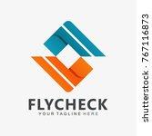 double check modern logo icon... | Shutterstock .eps vector #767116873