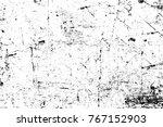 grunge black and white pattern. ... | Shutterstock . vector #767152903
